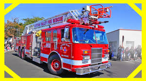 100 Fire Trucks For Toddlers At The Parade Videos For With Machines For