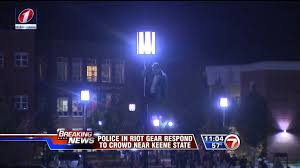 Pumpkin Festival Keene Riot by Whdh 7 News At 11 Keene Nh Riot Coverage Clips 10 18 2014