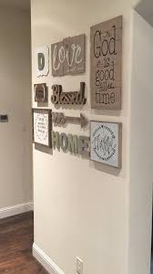love my new gallery wall found most everything at hobby lobby