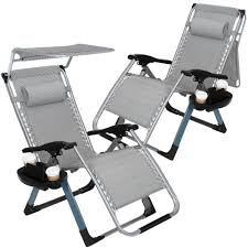 Artist Hand 2 Pack Zero Gravity Outdoor Folding Lounge Chairs-350LBS  Capacity-w/Adjustable Sunshade Canopy+ Snack Tray,Lawn Patio Reclining  Chairs For ... Folding Patio Lounge Chair Brickandwillowco Portable 2in1 Folding Chair Recliner Sleeping Loung Outdoor Sun Loungers Beach Lounge Chairs Adjustable Garden Deck Psychedelic Metal Plastic Cane Recling Foldable Zero Gravity With Pillow Black Sunnydaze Rocking Chaise Headrest Outdoor W Shade Canopy Cup Holder Camping Fishing Arm Rest Amazoncom Set Of 2 Patio