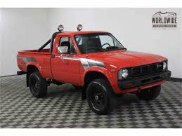 1981 Toyota Pickup For Sale | ClassicCars.com | CC-970316 Toyota Hilux Truggy 1981 V11 Camo For Spin Tires Old School Retro Tacos Tacoma World Vintage Chic Weekender Dually Camper Pickup Truck 4x4 22r Sr5 44 Jt4rn38d0b0004084bring A Trailer Week Pickup Diesel 2wd 1l To 5l Ih8mud Forum F17 Los Angeles 2017 Awesome Diesel Diesal Questions Toyota Turns Over But Dcmspec Hilux Specs Photos Modification Info At Cardomain