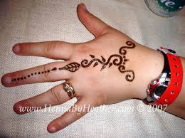 Simple Henna For Back Of Hand Tattoo Designs Are Often