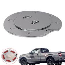 2018 Triple Chrome Plated Abs Fuel Tank Gas Door Cap Cover For Ford ... Ram Trucks Fuel Efficienct Quick Hit Filling Up With Titan Tanks 90 Gallon 340 L Hammerhead Lshape Combo Liquid Transfer Tank 62gallon Replacement And 30gallon Spare Tire Auxiliary 99013300 Buddy Mount For Truck Bed 72 Rolltop Cover 50 Split Refueling Dualtank System Flow Inc Lovely In Free Shipping Scotts 1976 Jeep J10 Blog Removing The 45 External Fill Tool Box Chrome Fuel Door Tank Cap Cover Trim For Mitsubishi Triton 2