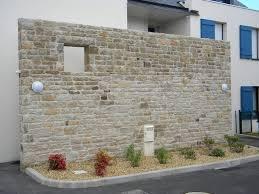 mur de separation exterieur beau mur en exterieur 11 mur apparente terrasse
