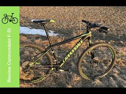 Cannondale F Si Alloy 1 2017 review