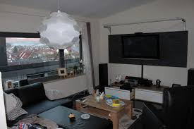 wohnzimmer kino ideen flat screen computer monitor