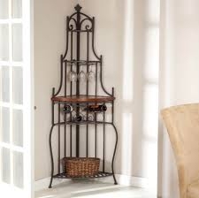 Corner Computer Desk Walmart Canada by Furniture Perfect Corner Bakers Rack With Basket Ideas Gorgeous