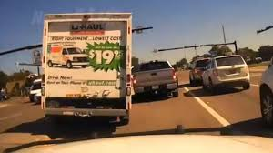 100 10 Ft Uhaul Truck Dash Cam Video Shows Florida Man Lead Cops On High Speed Chase In A