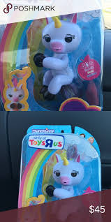 Fingerling Unicorn Gigi Fingerlings Monkey Toys R Us Exclusive In Hand Have Several Other