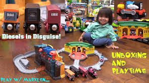 Thomas The Train Tidmouth Sheds Playset by Thomas U0026 Friends Take N Play Tidmouth Sheds Playset Train Maker