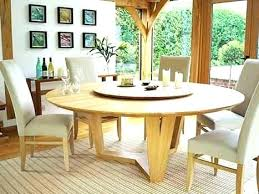 Large Round Dining Tables Table Seats Endearing