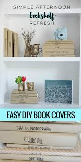 The Tortilla Curtain Book Pdf by Afternoon Bookshelf Refresh With Diy Paper Book Covers