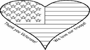 Dazzling Veterans Day Coloring Page Image 10