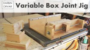 how to make a box joint jig youtube