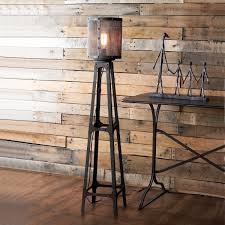 Franklin Iron Works Floor Lamp by Bed 4 50