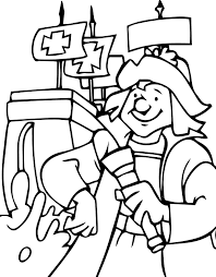 Christopher Columbus Coloring Pages Wecoloringpage Gallery Ideas