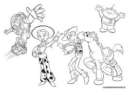 Dessins Gratuits à Colorier Coloriage Toy Story à Imprimer