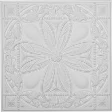 Foam Tile Flooring With Diamond Plate Texture by A La Maison Ceilings Diamond Wreath 1 6 Ft X 1 6 Ft Foam Glue Up