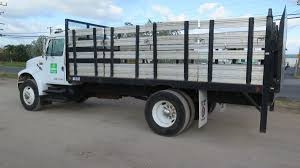 1996 International Flat Bed Stake Bed Truck W/ Tommy Lift Gate 2005 Ford F750 16 Stake Bed Truck For Sale 52343 Miles 1989 F600 Sa 14 2016 New Isuzu Npr At Industrial Power 2017 Hd 21ft Liftgate Available 20 24 Stakebed Trucks With A Yelp 2018 Hino 195 1999 F450 Flatbed 12 Ft Large Holds Three Passengers And Tons Of Cargo In