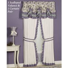 serenade ruffled window treatments