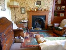 Classic Fireplace Combo With Mirror And Like The Lamp 1930s Decor1930s House