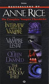 Complete Vampire Chronicles Interview With The Lestat Queen Of Damned Tale Body Thief Anne Rice 8601406700765