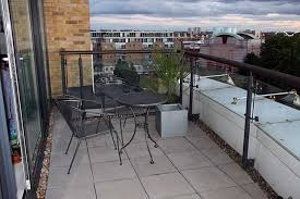 Balcony Decking And Paving