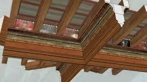 plafond a caisson suspendu rcppm restitution 3d montage plafond à caissons stage 3d 2014
