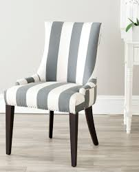 Grey Upholstered Dining Chairs With Nailheads by Mcr4502h Dining Chairs Furniture By Safavieh
