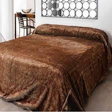 couvre lit fausse fourrure loup linder lit 2 personnes web