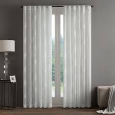White Sheer Curtains Bed Bath And Beyond by Buy 95
