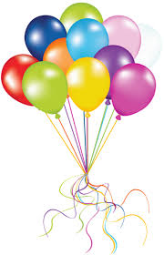 Dot Balloons and Clip Art