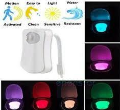 8 farben led sensor wc nachtlicht badezimmer smart le elr8