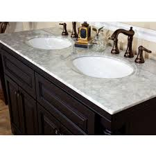 48 Inch Double Sink Vanity White by Bathroom Granite Top Double Sink Vanity Top With Brass Faucet