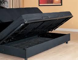Klik Klak Sofa Bed With Storage by Living Room Luna Fulya Br Storage Convertible Sofa With Brown