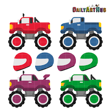 100 Truck Images Clip Art Free Monster Download Free Free