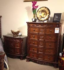 North Shore King Sleigh Bed by North Shore Dresser And Night Stand A Rich Traditional Design And