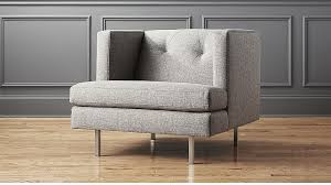 Cb2 Frost Sleeper Sofa by Contemporary And Modern Chairs Accent And Armchair Cb2