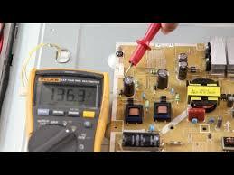 Vizio E420 A0 E420i A0 E420D A0 LED TV No Backlights Voltage Test Troubleshoot LEDs & Power Supply