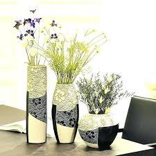 Home Decor Vase Fascinating Floor Ceramic Modern Fashion Brief Set