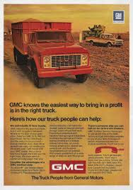 1972 GMC Trucks - USA By Michael On F | Retro Car Ads | Pinterest ...