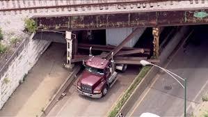 100 Truck Stuck Under Bridge Semi Stuck Under 63rd Street Rail Bridge On South Side Abc7chicagocom