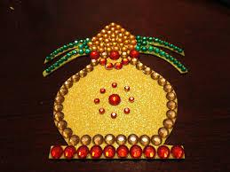 Varalakshmi Vratham Decoration Ideas by Kundan Art How To Make A Kalash Youtube