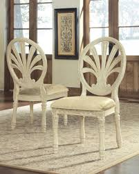 Ortanique Round Glass Dining Room Set by D707 03 Signature By Ashley Ortanique Dining Uph Side Chair 2 Cn