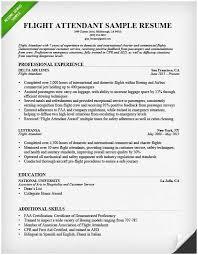 Resume Format Uae Awesome Cabin Crew Cv Example Benigebra Inc