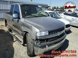 Used Parts 2001 Chevrolet Silverado 1500 5.3L 4x2 | Subway Truck ... Cool Chevy Truck Accsories Best 2017 2000 Chevrolet Silverado 1500 Z71 Quality Oem Replacement Parts 88 Parts Old Photos Collection All 2013 Silverado Ltz 20 Fuel Octane 35 X 125 R2 Flickr 1993 Chevrolet 1992 1987 Textured 42016 Chevy 68 Bed Pocket Riveted El Paso Tx 4 Wheel Youtube Used 2004 53l 4x4 Subway Ranch Hand Legend Grille Guard 2016 Red Line Concept Reveal Gm Authority