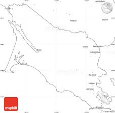 Blank Simple Map Of Marin County