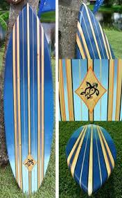 Decorative Surfboard Wall Art by Tiki Soul Decorative Surfboard Surf Art Native Hawaiian