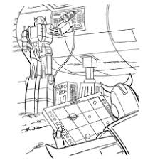 Transformers In Hi Tech Operations Iron Hide Coloring Pages Of