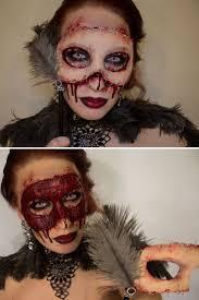 Halloween Half Mask Ideas by 700 Best Ideas Halloween Hair Scary Halloween Makeup Images On